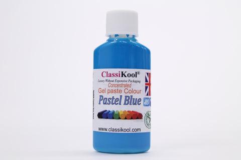 Classikool 30g Pots of Pastel Food Colouring Gel Paste Icing Sugarpaste Colours