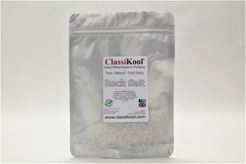 Classikool Rock Salt: Food Grade & Natural for Edible and Cosmetic Use