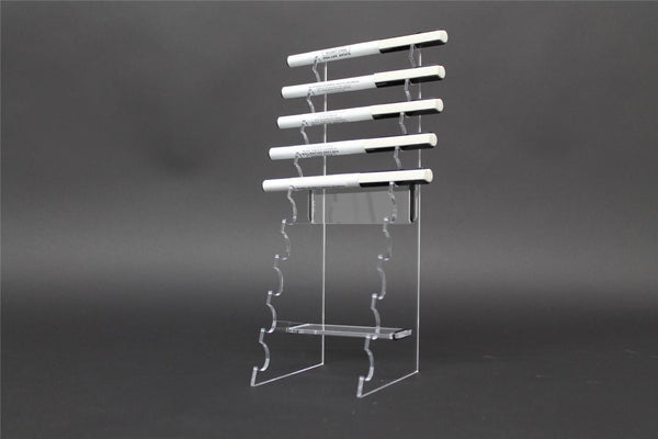 Classikool Tall Clear Acrylic Perspex E Cig Cigarette Pen Counter Display Stand
