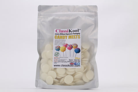 Classikool 1kg Candy Melts with 200 x Surprise Colour Pop Sticks Set