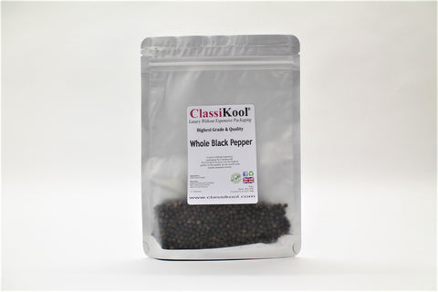 Classikool Whole Black Peppercorns: Quality Spice Seasoning for Savoury Cooking