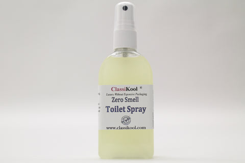 Classikool 100ml Zero Smell Toilet Spray: Freshen Bowl Water to Prevent Odors