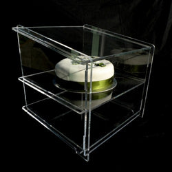 Classikool Clear Acrylic Sneeze Guard Display Cabinet