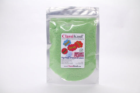 Classikool [5kg Green Apple] Candy Floss Sugar: Instant Machine Ready