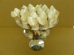Classikool Acrylic Canape Cone Ice Cream Holder Stand Buffet Wedding Display