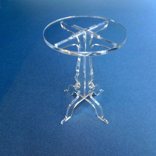 Classikool Acrylic Ornate Wedding Single Cupcake Stand