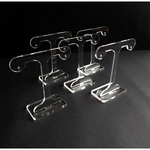 "Classikool Clear Acrylic Earring Display - ""T"" Shape Tree Design"