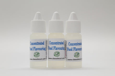Classikool 10ml Intense Concentrated Food Flavouring Sets (Choice of 20 Sets)