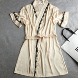 Silk Satin Kimono Robes For Women