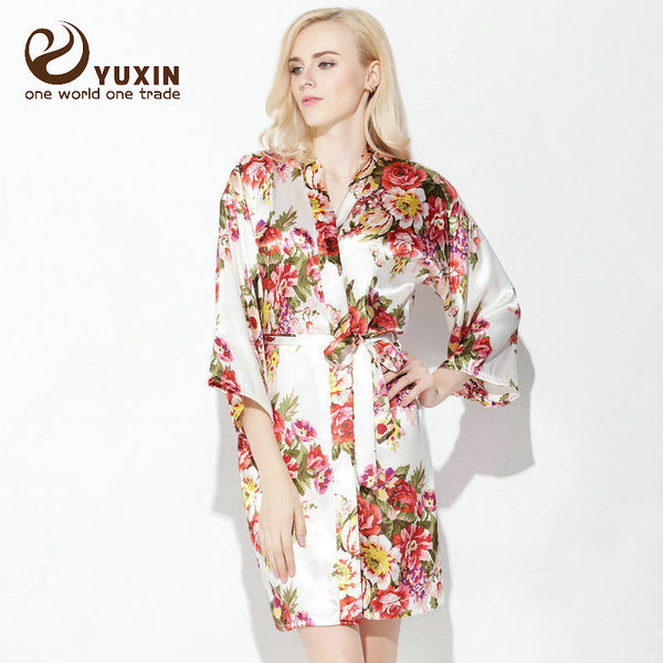 2ab945e21f Mini Kimono Robe. Regular price  22.95. Bride and Bridesmaids Floral  Bathrobes