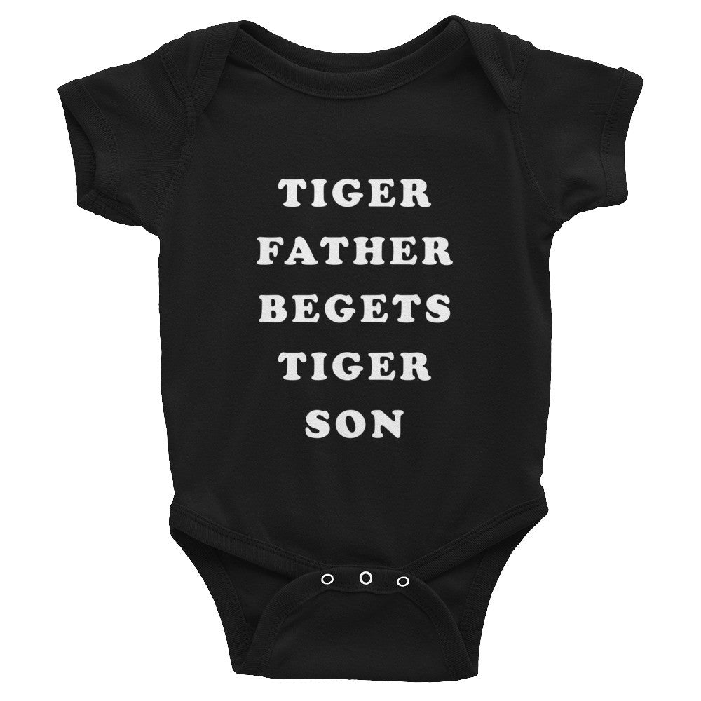 TIGER FATHER BEGETS TIGER SON