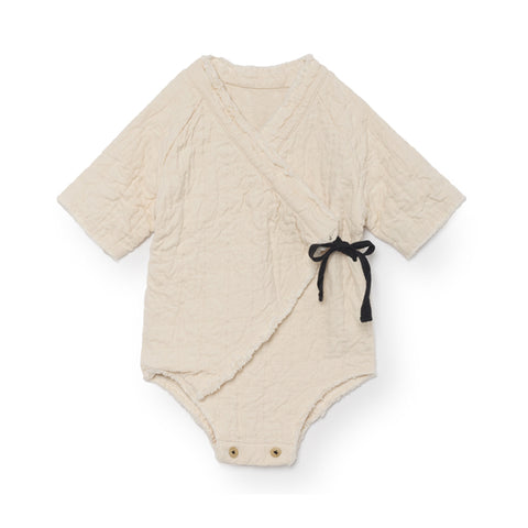little creative factory - BABY MENKA OVERALL - Chalk