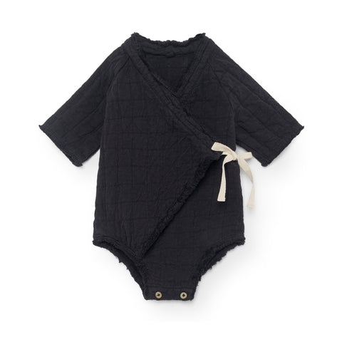 little creative factory - BABY MENKA OVERALL - Black