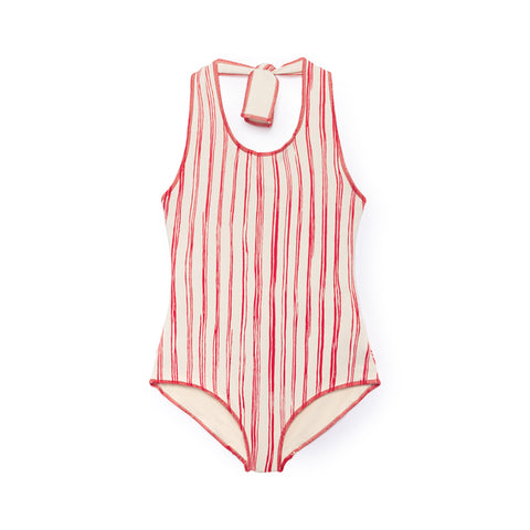 BAMBOO STRIPED BATHING SUIT (Reversible)