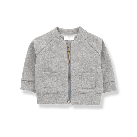 1+in the family - ROBIN JACKET - Light Grey