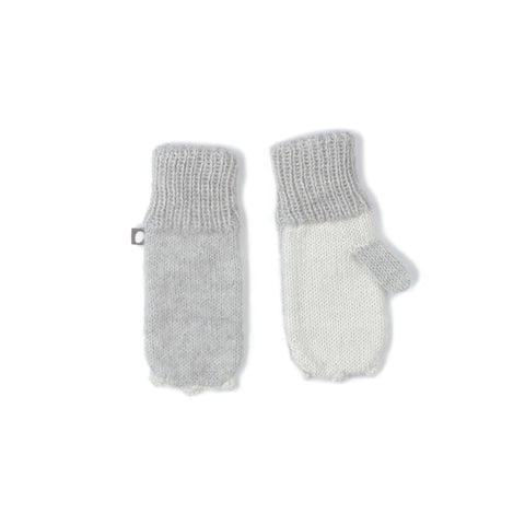 OEUF ANIMAL MITTENS RABBIT - Grey