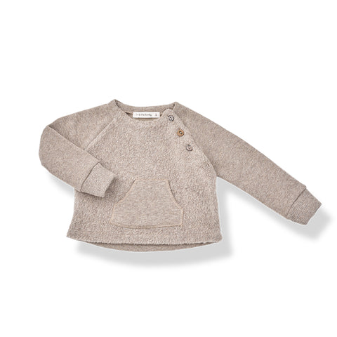 1+in the family DIDIER SWEATSHIRT - Beige