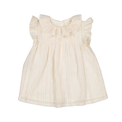 louis louise - DRESS EGLANTINE - Off White