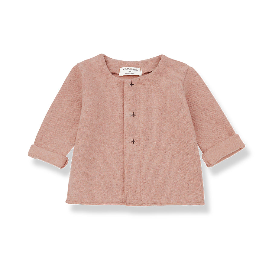 1+in the family - GRETA JACKET - Powder Pink