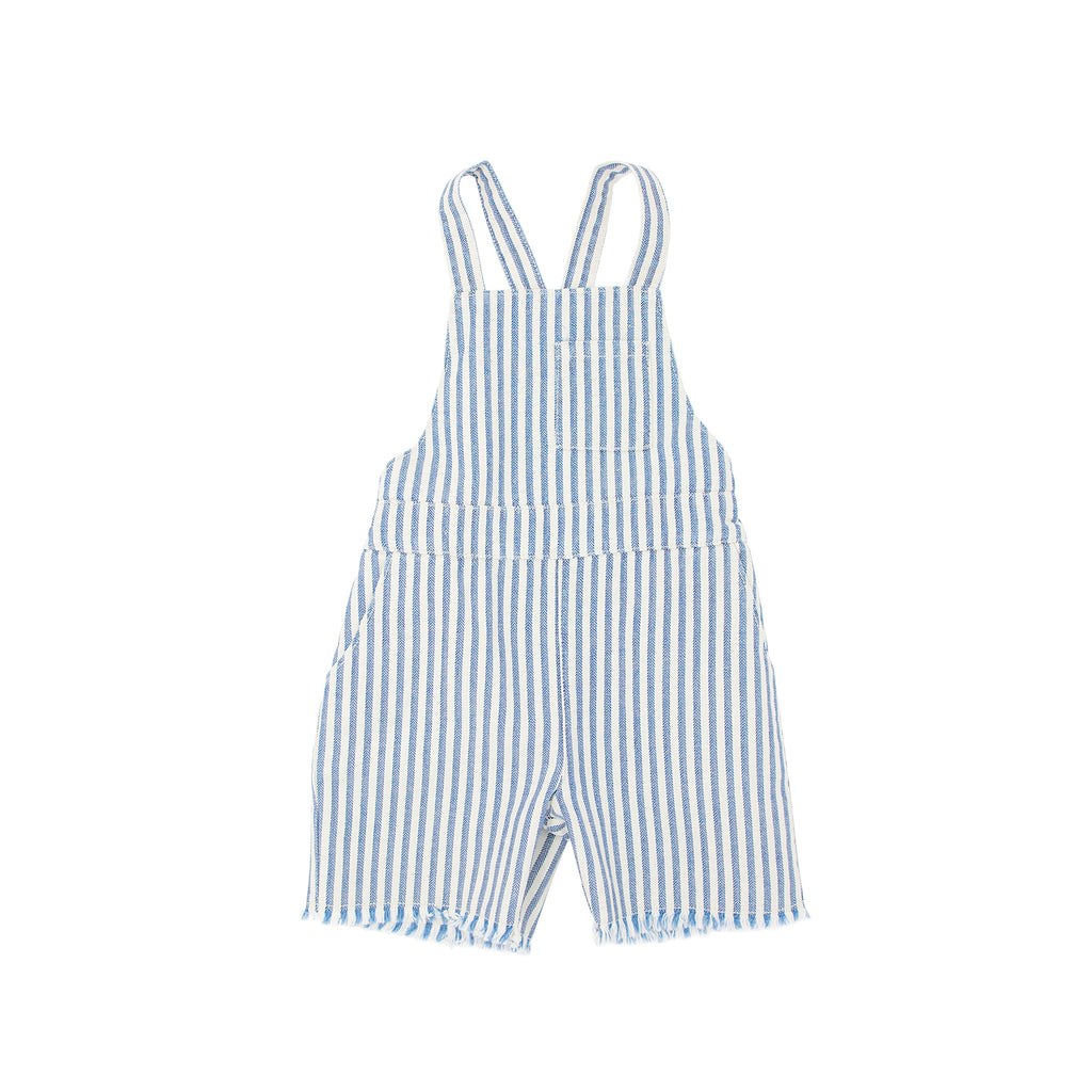 Babe & Tess - STRIPE OVERALL - Pale Blue