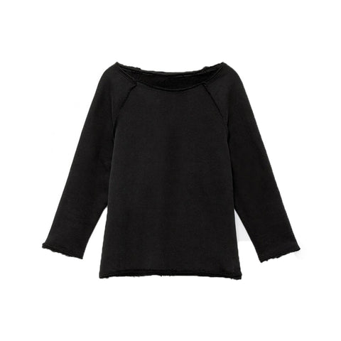 LITTLE CREATIVE FACTORY - JACK'S LONG-SLEEVED SWEATSHIRT - Black