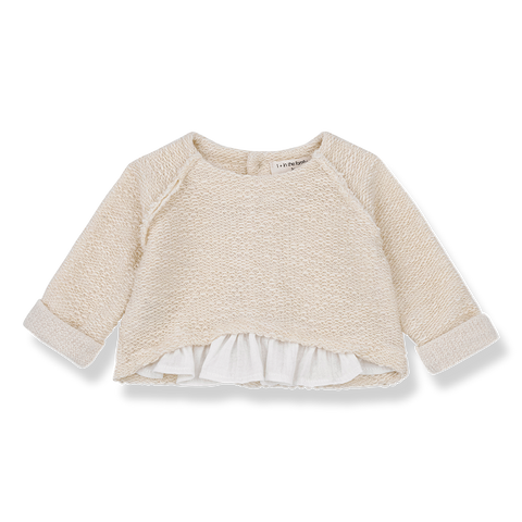 1+in the family - JUTTA SWEATSHIRT - Natural