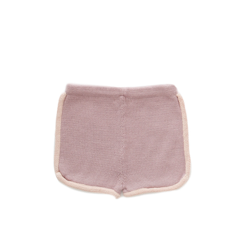 oeuf - 70s SHORTS - Mauve/Coral Almond