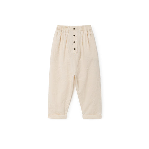 Little Creative Factory - CRINKLED TROUSERS - Natural