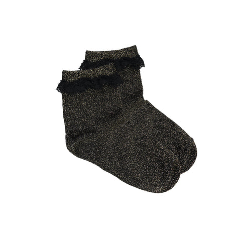 louis louise - SOCKS GIRLY - Black