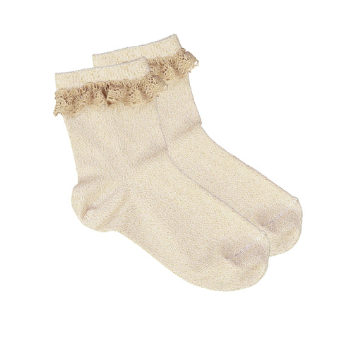 louis louise - SOCKS GIRLY - Gold
