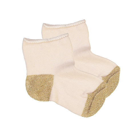 SOCKS JANET - Pink/Lurex