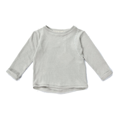 Treehouse by Anja Schwerbrock - LORONI PULLOVER - Light Grey