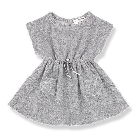 1+in the family - LILA DRESS - Charcoal