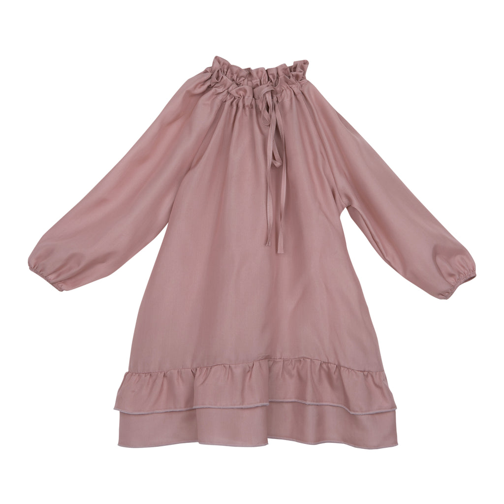 Bebe Organic - PIPPA SILK DRESS - Pink