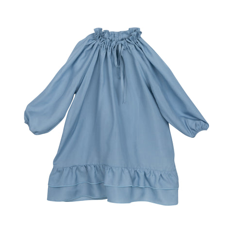Bebe Organic - PIPPA SILK DRESS - Blue
