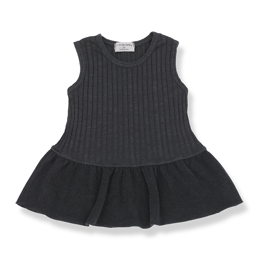 1+in the family - MATILDA DRESS - Black