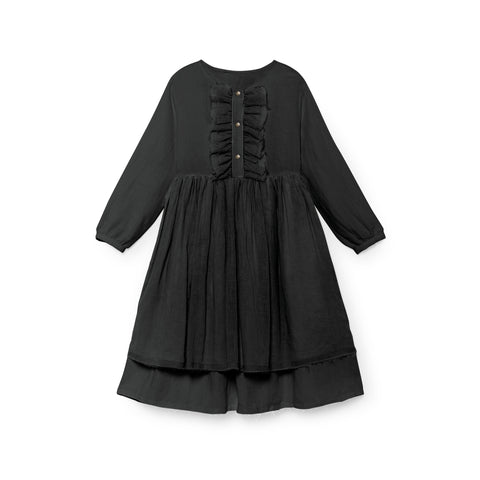 LITTLE CREATIVE FACTORY - NICOLE'S RUFFLED DRESS - Slate