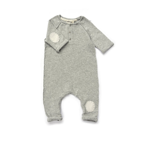 TREEHOUSE BY ANJA SCHWERBROCK - ONIKO ONESIE - Light grey