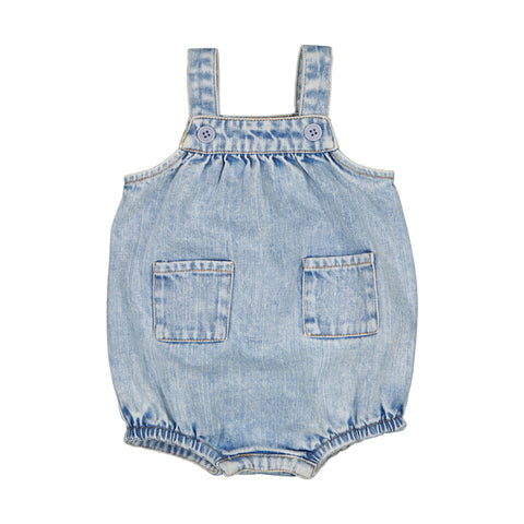 louis louise - OVERALL AURELIEN - Denim Washed