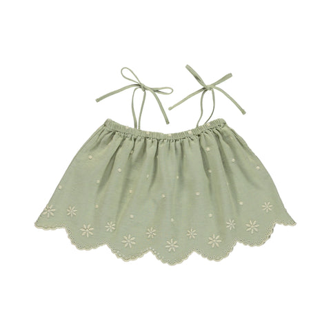 bebe organic - OLIVIA TOP - Natural Green