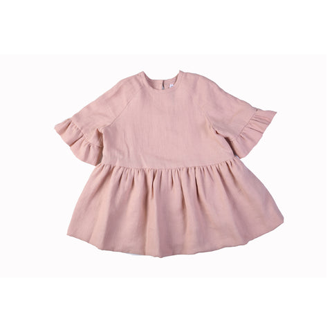 SAARA DRESS - Rose
