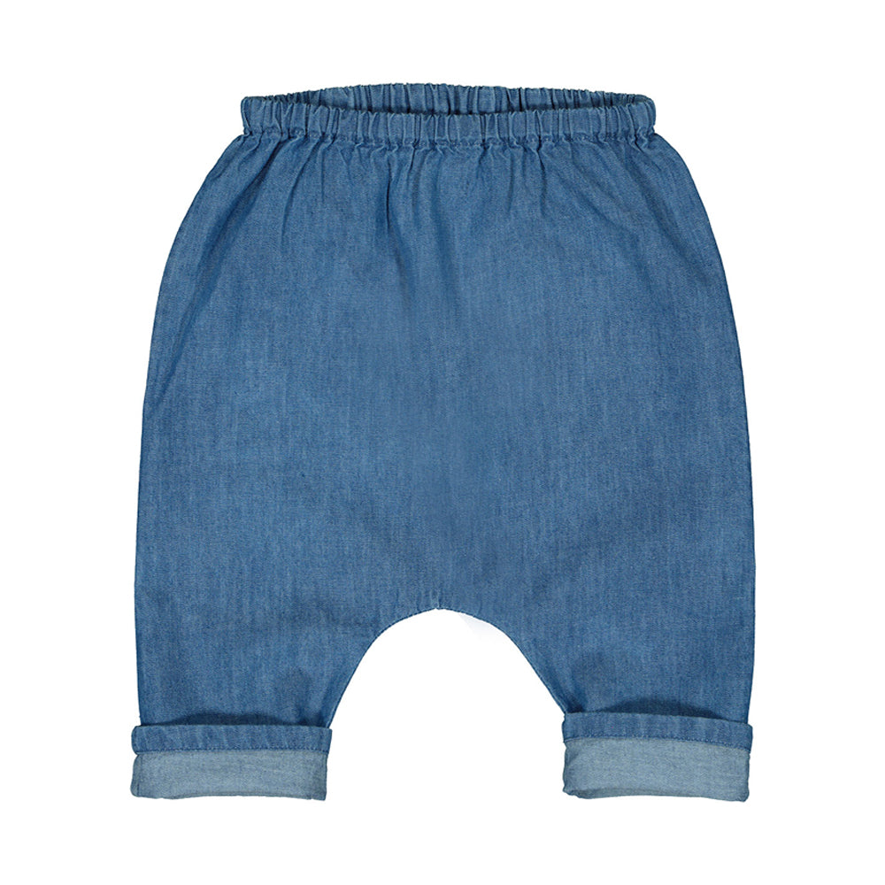 TROUSERS JUNGLE - Chambray