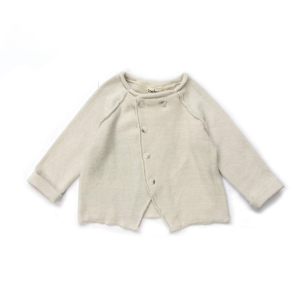 TREEHOUSE BY ANJA SCHWERBROCK - VALONI CARDIGAN - Cloud white