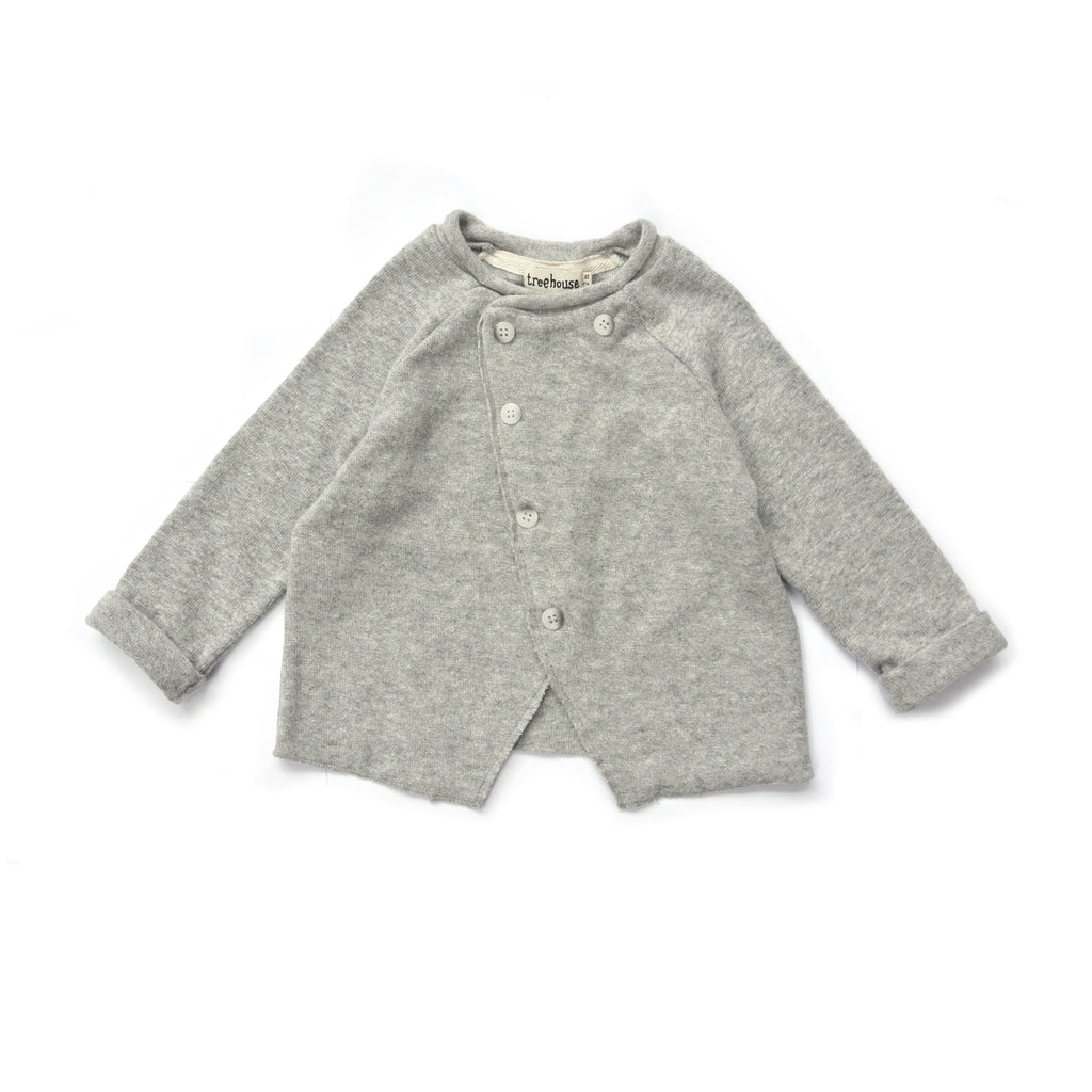 TREEHOUSE BY ANJA SCHWERBROCK - VALONI CARDIGAN - Light grey