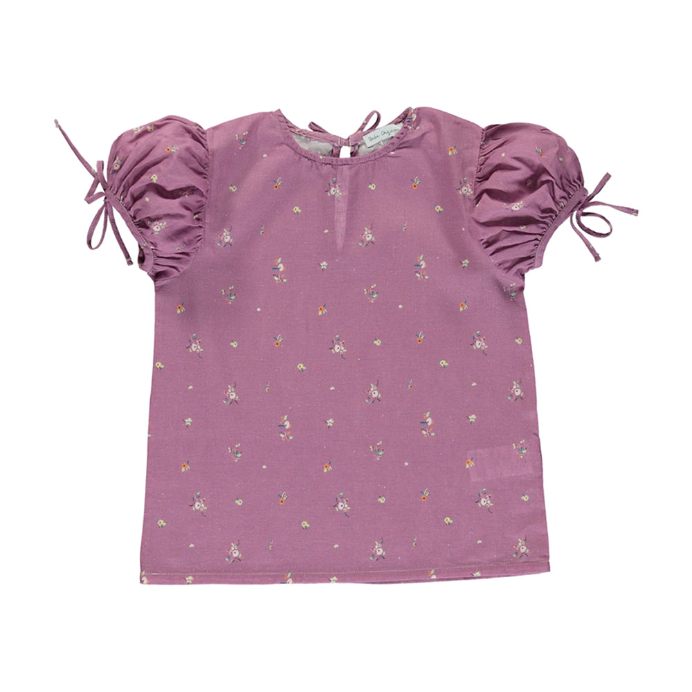 bebe organic - ADELE BLOUSE - Purple Flowers