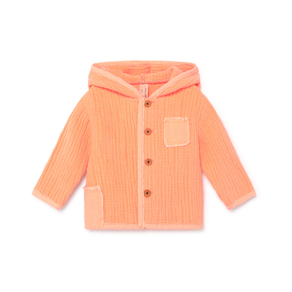little creative factory - BABY QUILTED JACKET - Neon