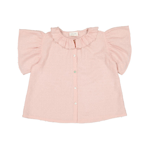 louis louise - TUNIC SARAH PLUMETIS - Light Pink