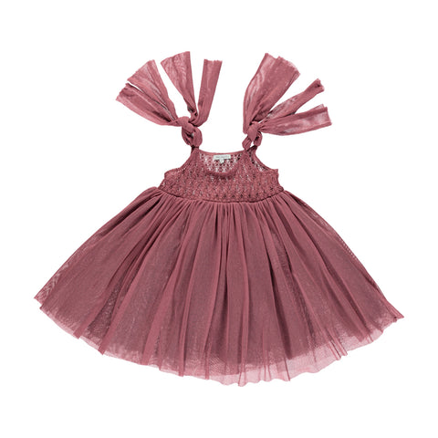 bebe organic - CHLOE DRESS - Deco Rose Tulle