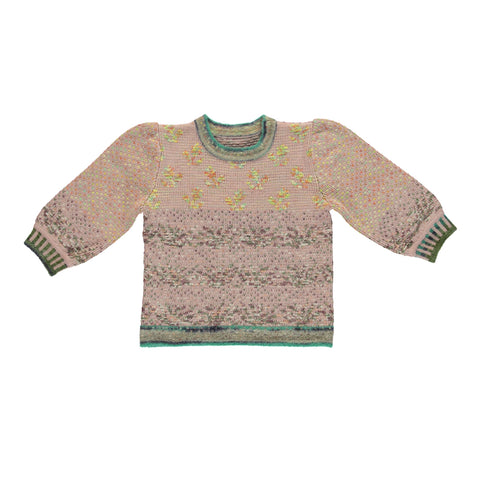 bebe organic - COLIN SWEATER - Multi Rose