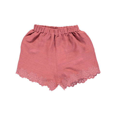 bebe organic - CRISTINA SHORTS - Old Rose